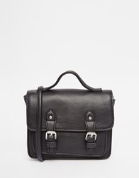 Asos Mini Satchel Bag Black