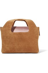 The Row Two For One Suede Tote Sand