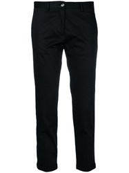 Mauro Grifoni Cropped Trousers Black