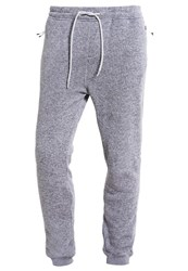 Quiksilver Keller Tracksuit Bottoms Light Grey Heather