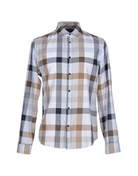 Byblos Shirts Shirts Men Light Grey