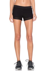 Blue Life Mesh Running Short Black
