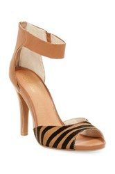 Seychelles Good Fortune Ankle Strap Pump Brown