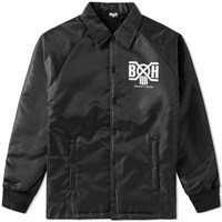 Bounty Hunter Logo Coach Jacket Black
