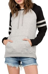 Volcom Women's Lived In Colorblock Pullover Hoodie