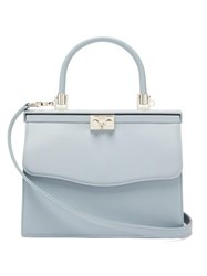 Rodo Paris Medium Leather Bag Light Blue
