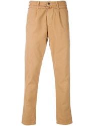 Homecore Sergio Twill Trousers Nude And Neutrals