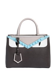 Fendi Small 2Jours Bugs Leather Top Handle Bag