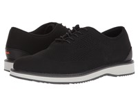 Swims Barry Derby Knit Black Gray Graphite Shoes