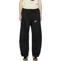 Bless Ssense Exclusive Black Denim Overjoggingjeans Lounge Pants