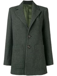 Joseph Blazer Like Coat Green