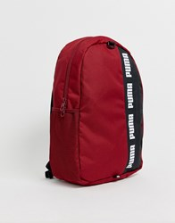Puma Phase Ii Backpack In Red