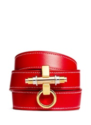 Givenchy 'Obsedia' Triple Wrap Leather Bracelet