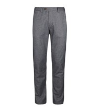 Ted Baker Classy Classic Fit Brushed Trousers Male Blue