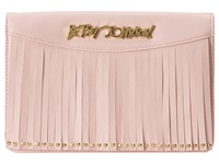 Betsey Johnson On The Fringe Wallet On A String Blush Wallet Handbags Pink