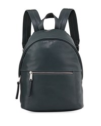 French Connection Jace Faux Leather Backpack Green