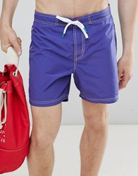 United Colors Of Benetton Swim Shorts In Blue
