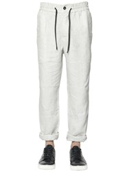 Bernardo Giusti Linen Canvas Tailored Pants