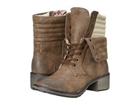 Roxy Charley Brown Women's Lace Up Boots