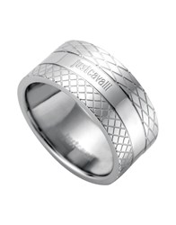 Just Cavalli Rings Silver