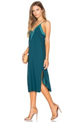 Finders Keepers Yesterdays Dress Teal