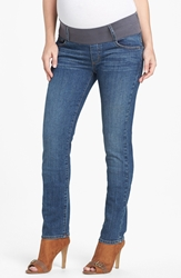 Maternal America Maternity Skinny Jeans Classic Wash