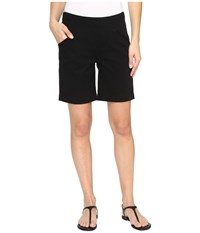 Jag Jeans Ainsley Pull On 8 Shorts In Bay Twill Black Women's Shorts