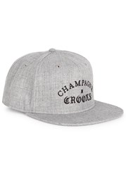 Crooks And Castles Champagne Grey Twill Cap