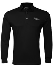 Oscar Jacobson Plain Polo Regular Fit Polo Shirt Black