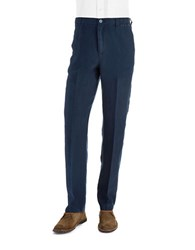 Tommy Bahama Linen Drawstring Pants Blue Note