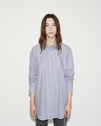 Organic By John Patrick Oversized Shirt Blue