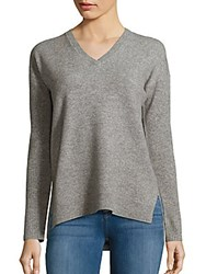 Saks Fifth Avenue Solid Cashmere Pullover Black