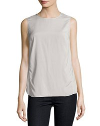 Brunello Cucinelli Sleeveless Layered Back Top Light Pink