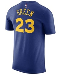 Nike Men's Draymond Green Golden State Warriors Name And Number Player T Shirt Blue