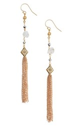 Vanessa Mooney Women's Mia Herkimer Drop Earrings