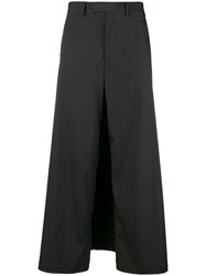 Jean Paul Gaultier Vintage Back Apron Trousers Black