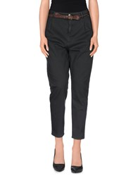 Met And Friends Trousers Casual Trousers Women Steel Grey