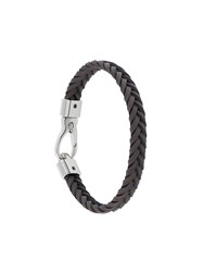 Tod's Classic Woven Bracelet Brown