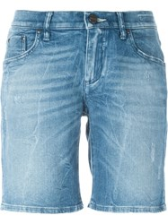 Jacob Cohen Stonewashed Shorts Blue