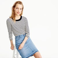 J.Crew Petite Tippi Sweater In Nautical Stripe