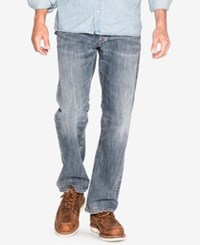 Silver Jeans Co. Men's Zac Relaxed Fit Straight Stretch Indigo