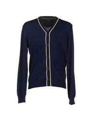 Brooksfield Knitwear Cardigans Men Dark Blue