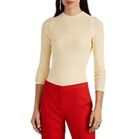 Narciso Rodriguez Compact Knit Sweater Cream