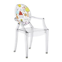 Kartell Children's Lou Lou Ghost Chair Sketch