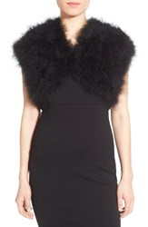 Women's Badgley Mischka Feather Shrug