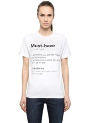 Anna K Must Have Printed Cotton T Shirt