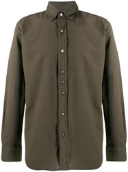 Tom Ford Button Down Shirt Green