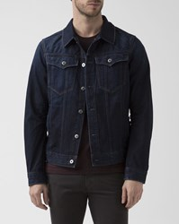 G Star Blue Denim 3D Deconstructed Slim Jacket