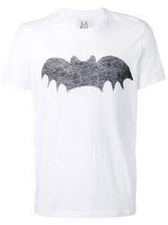 Zoe Karssen Loose Fit Bat T Shirt Men Cotton L White