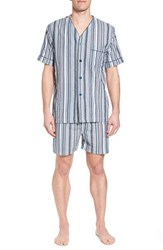Majestic International Summer Shell Short Pajamas Ash